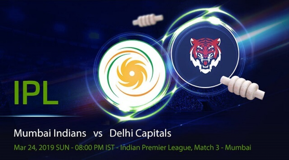 MI vs DC - IPL 2019 3rd Match – Full Review and Match Highlights