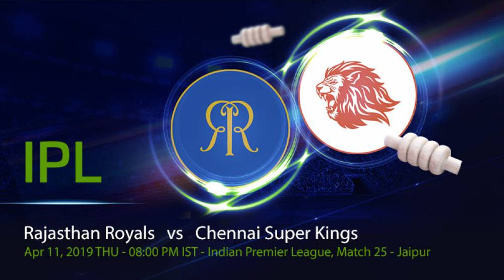 RR vs CSK, IPL 2019 25th Match - Full Review and Match Highlights