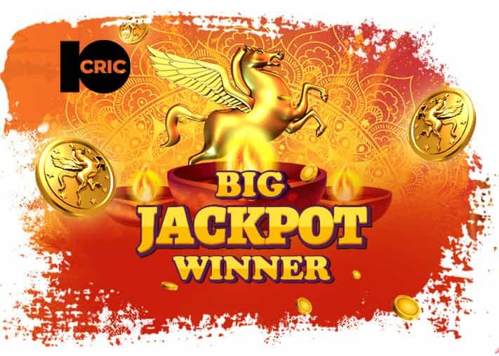 Jackpot Hit at 10CRIC Casino – ₹129 Lakh Won!