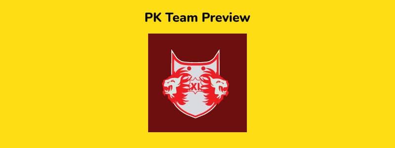 PK - IPL 2021 in UAE Team Preview