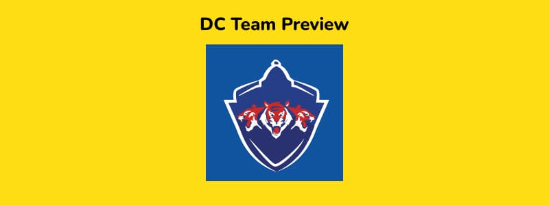DC - IPL 2021 in UAE Team Preview