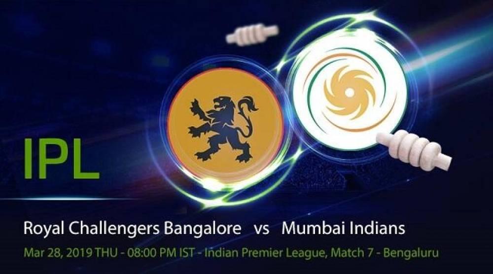 RCB vs MI - IPL 2019 7th Match – Full Review and Match Highlights